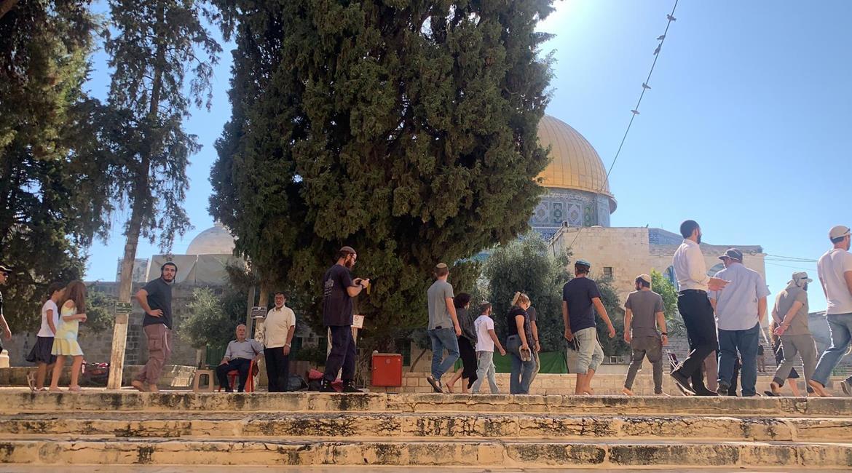 Jordan protests Israeli violations of the status quo at Al-Aqsa Mosque