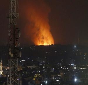 Israeli warplanes bomb several sites in Gaza
